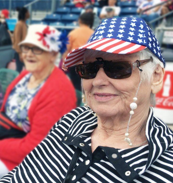 East Ridge Residence | Residents at ball game