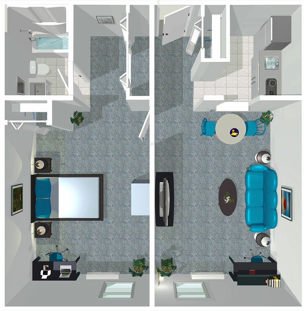 East Ridge Residence | One Bedroom